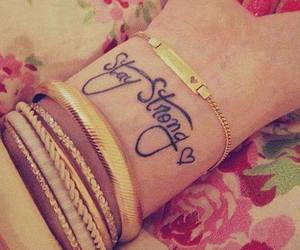 stay strong; tattoo image