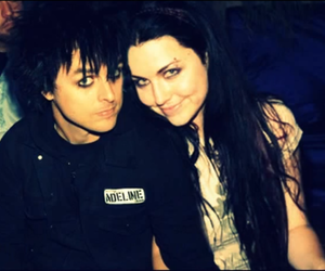amy lee, billie joe armstrong, and green day image