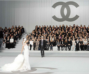 chanel, dress, and karl lagerfeld image