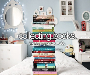 book, collecting, and reading image