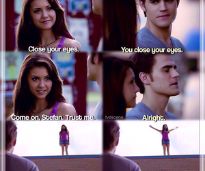stelena, Nina Dobrev, and the vampire diaries image