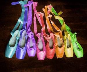 ballet, dance, and colors image
