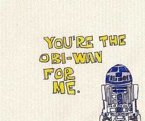 star wars, obi-wan, and r2d2 image
