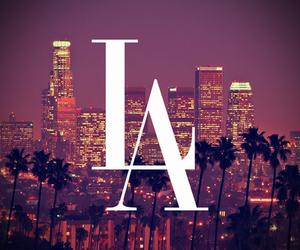 la, los angeles, and city image