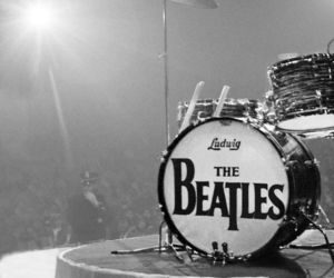 band, songs, and the beatles image