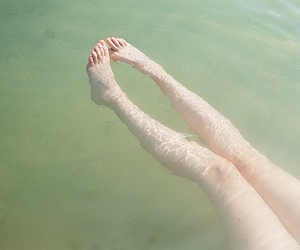 clear, skinny, and water image