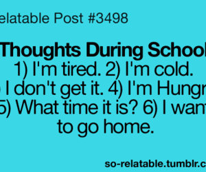 true, school, and funny image