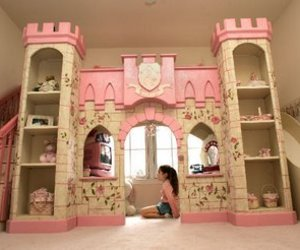 princess, bedroom, and castle image