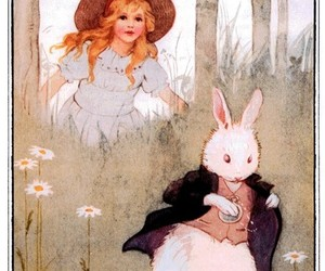 alice and rabbit image