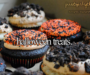 Halloween, treat, and fall image