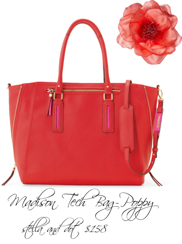 bag, dot, and poppy image