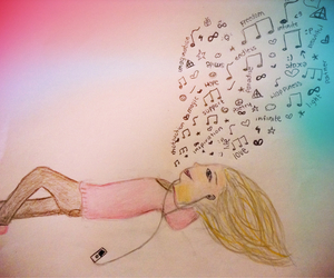 amazing, music, and drawing image