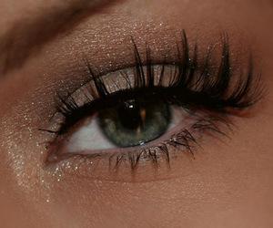 cosmetics, eyes, and girl image