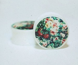 floral, flowers, and gauges image