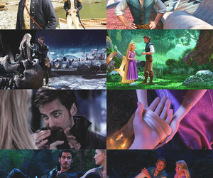 once upon a time, tangled, and rapunzel image
