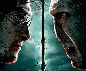 harry potter, voldemort, and deathly hallows image