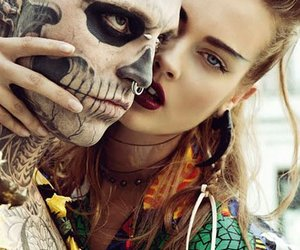 tattoo, boy, and piercing image