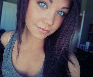 blue eyes, pretty, and cute image