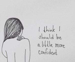 confidence and drawing image