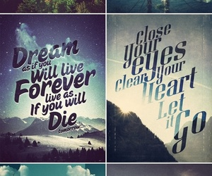 Dream, faith, and forever image