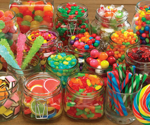 candy, sweets, and colorful. image