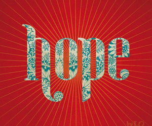 hope and red image