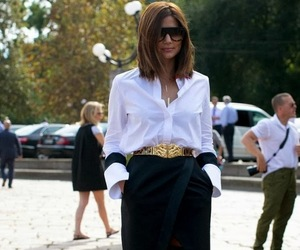 fashion, model, and street style image