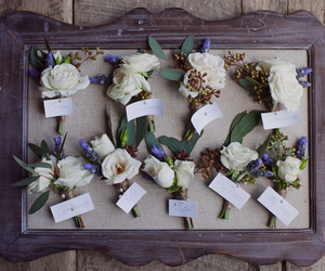 boutonniere, Buttonhole, and flowers image