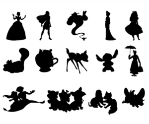 silhouettes image
