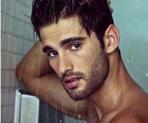 Hot, male, and shower image