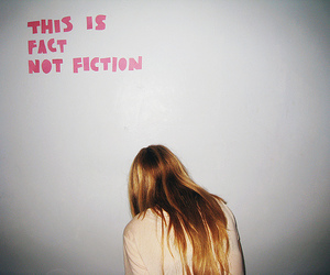 girl, fact, and fiction image