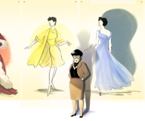 google, vintage, and edith head image