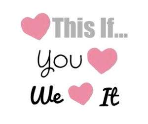 love, heart, and we heart it image
