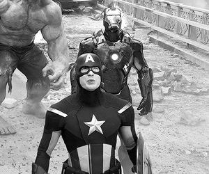 Hulk, the avengers, and captain america image