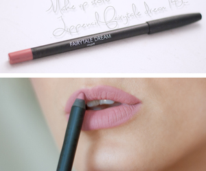 lips, make up, and color image