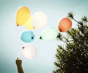 balloons, photography, and summer image