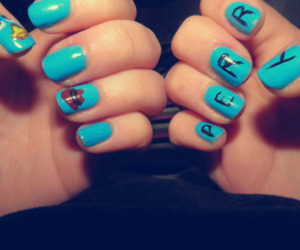 nail art, nails, and perry platypus image