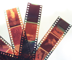 analog, camera, and films image
