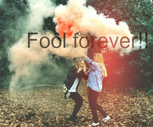 girl, best friends, and fool image