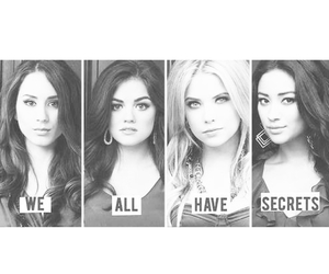 pll, emily, and hanna image
