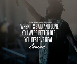 the weeknd, quotes, and love image