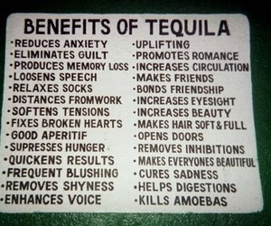 tequila, alcohol, and benefits image