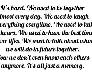 memories, sad, and love image
