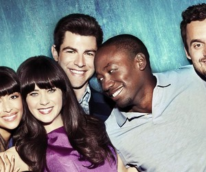 winston, new girl, and cece image