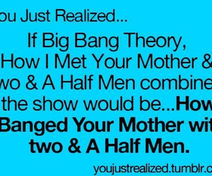 funny, how i met your mother, and two and a half men image