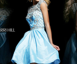 beaded, flirty, and homecoming image