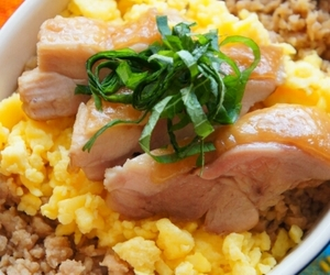 Chicken, egg, and food image