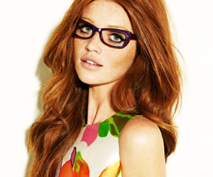 Cintia Dicker, glasses, and ginger image