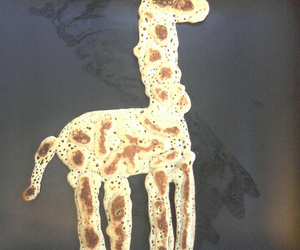 giraffe and pancake image