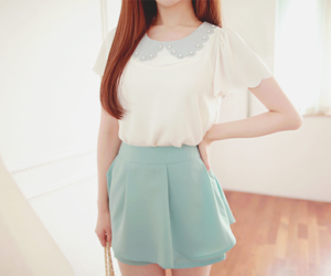 clothing, korean, and girls image